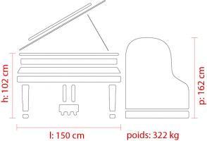 Feurich 162 details