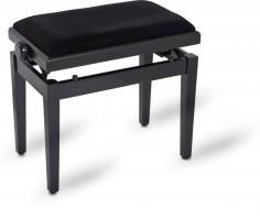 Pianobank mat zwart