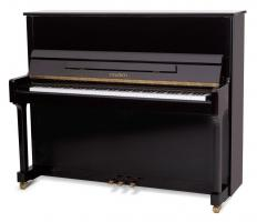 Feurich 122 piano zwart