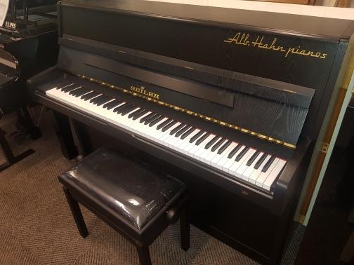 Seiler piano mat zwart